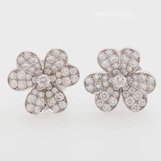 """VAN CLEEF & ARPELS earrings """"frivolous"""" - photo 1"""