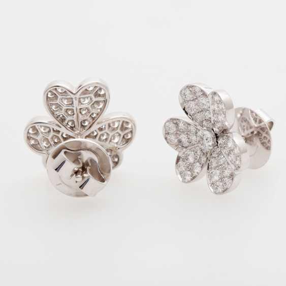 """VAN CLEEF & ARPELS earrings """"frivolous"""" - photo 2"""