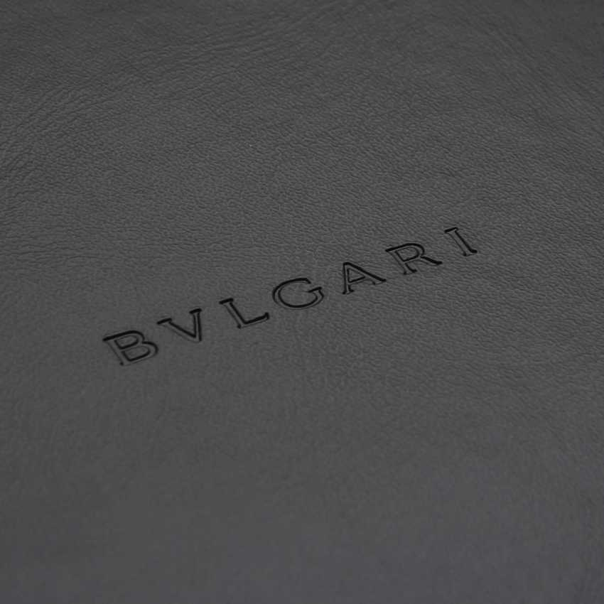 BULGARI necklace with 2 mother of pearl hearts. - photo 8