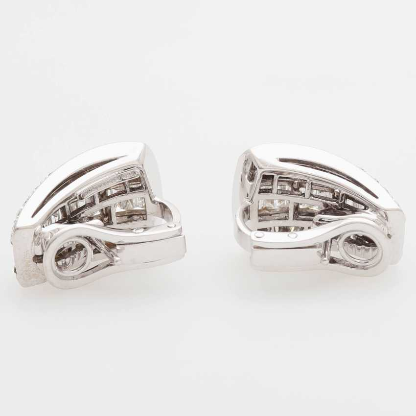 PICCHIOTTI clip earrings with onyx inlay & diamonds - photo 4