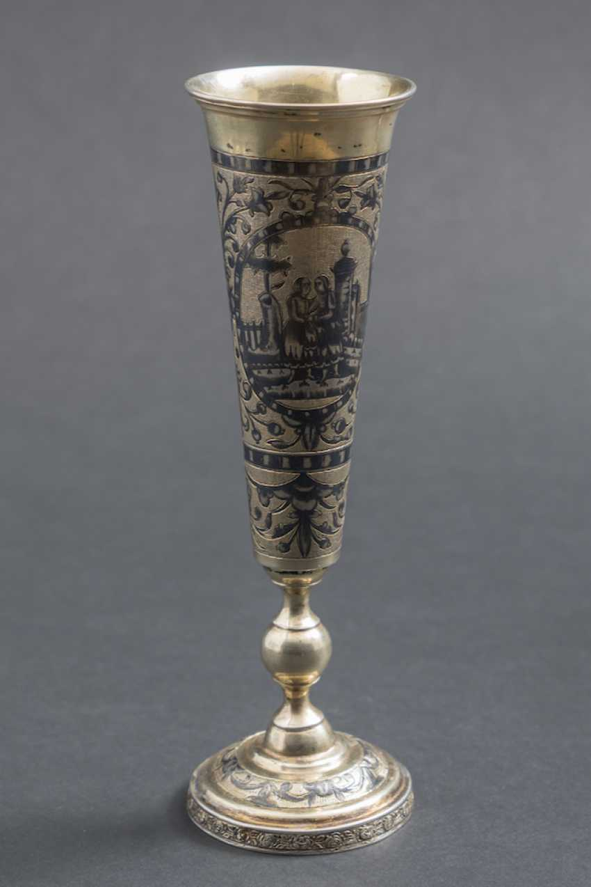 FLUTE CHAMPAGNE GOLD PLATED - photo 1