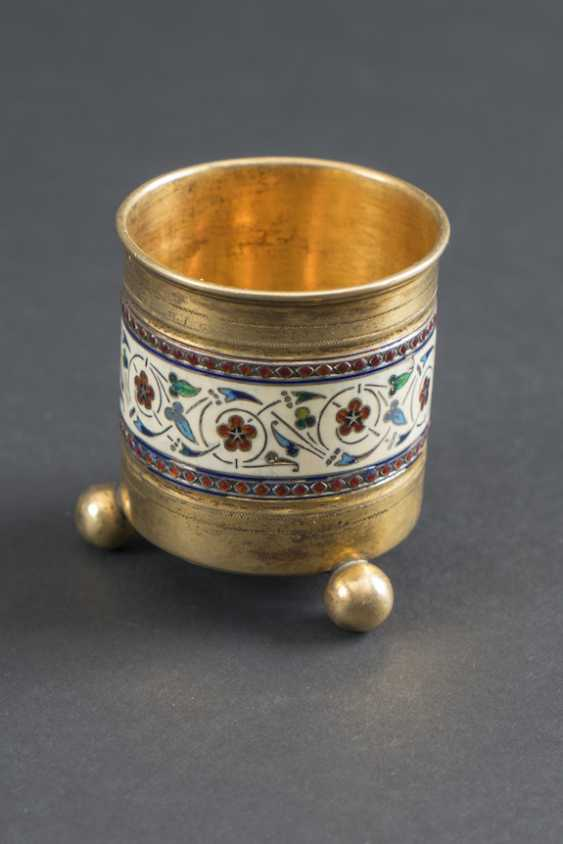 INKWELL IS FULLY GOLD PLATED TO - photo 1