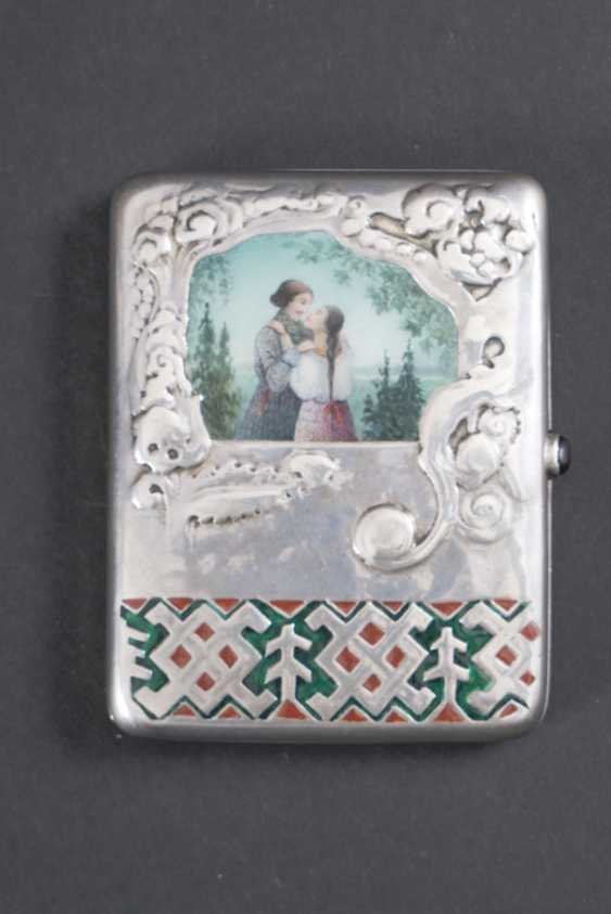 ELEGANT PACK OF CIGARETTES WITH HINGED LID AND - photo 1