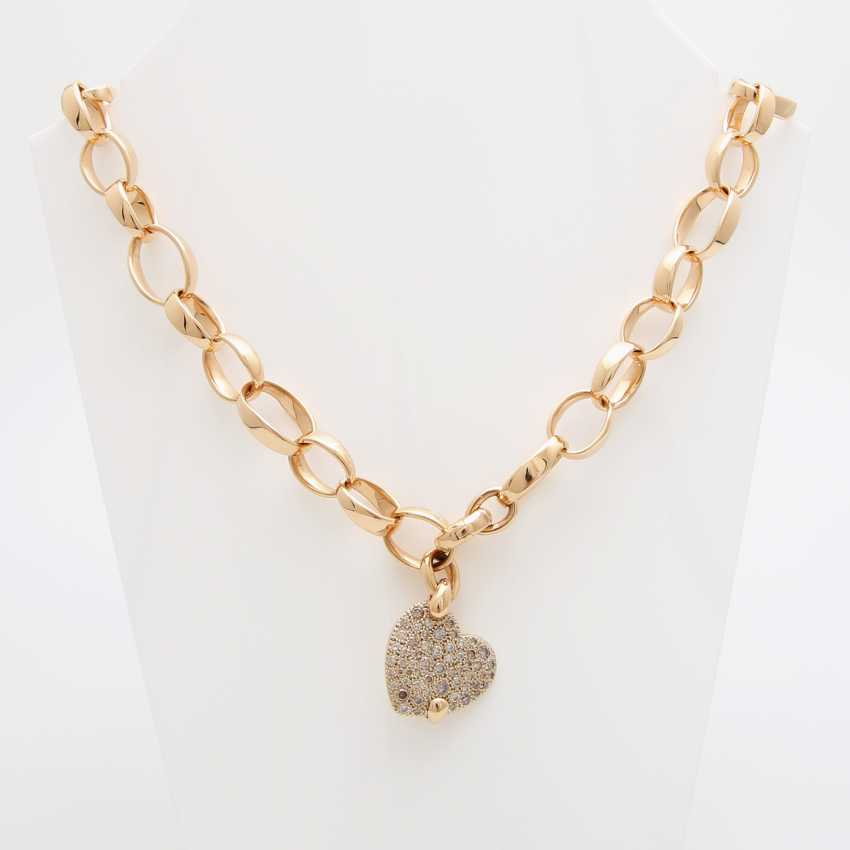"POMELLATO necklace ""Sabbia"" with a heart pendant - photo 1"
