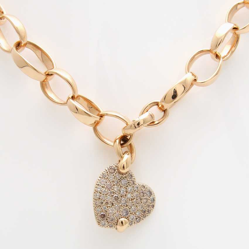 "POMELLATO necklace ""Sabbia"" with a heart pendant - photo 2"