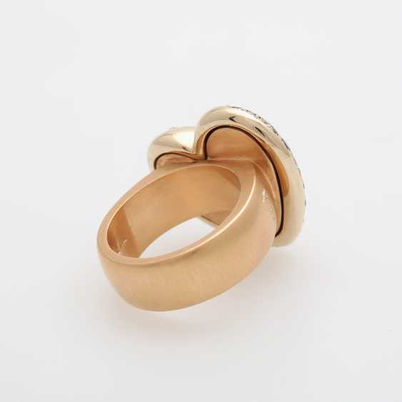 "POMELLATO Ring ""Sabbia"" with herzförm. Ring head - photo 4"