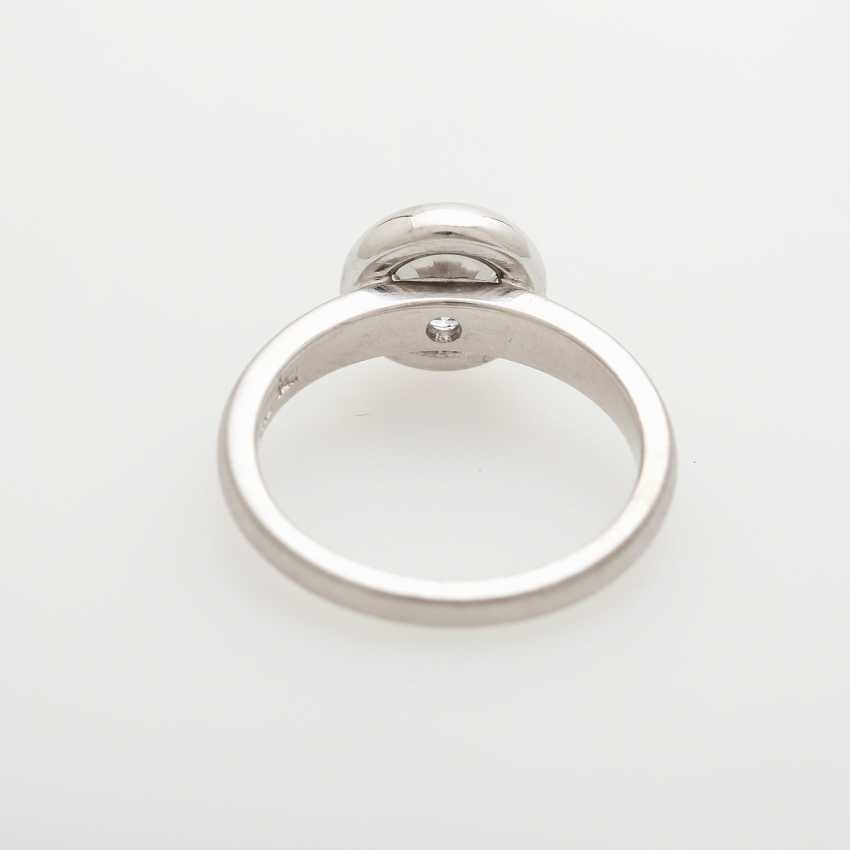 Solitaire ring studded with a Diam.-Brilliant - photo 5