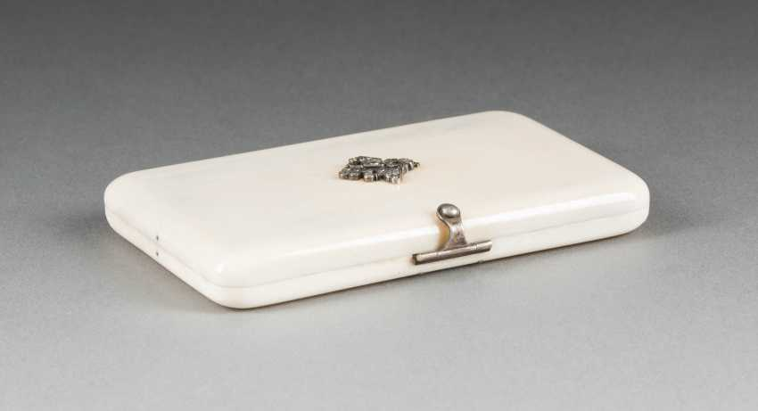 Auction Lot 57 Business Card Holder With Double Head Eagle