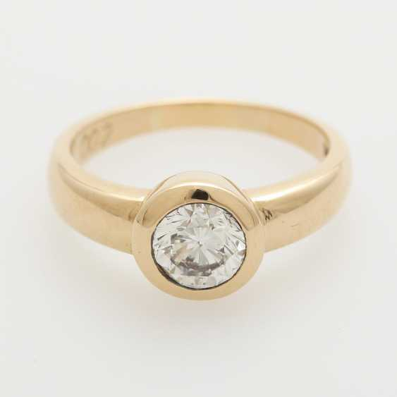 Solitaire ring m. Diam occupied.-Brilliant - photo 1