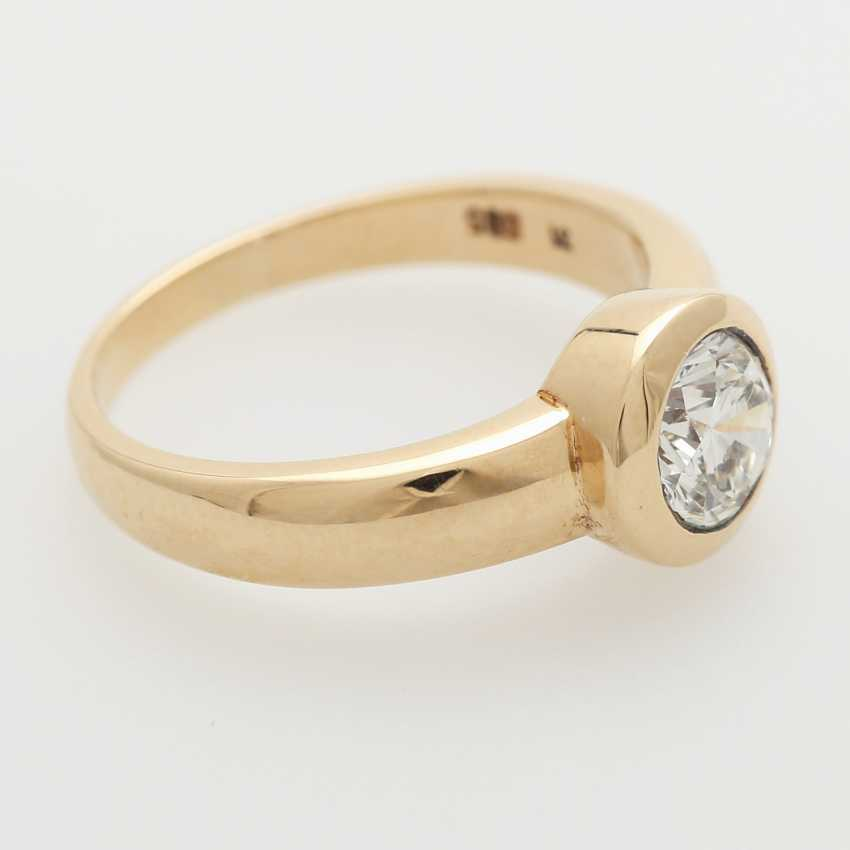 Solitaire ring m. Diam occupied.-Brilliant - photo 2