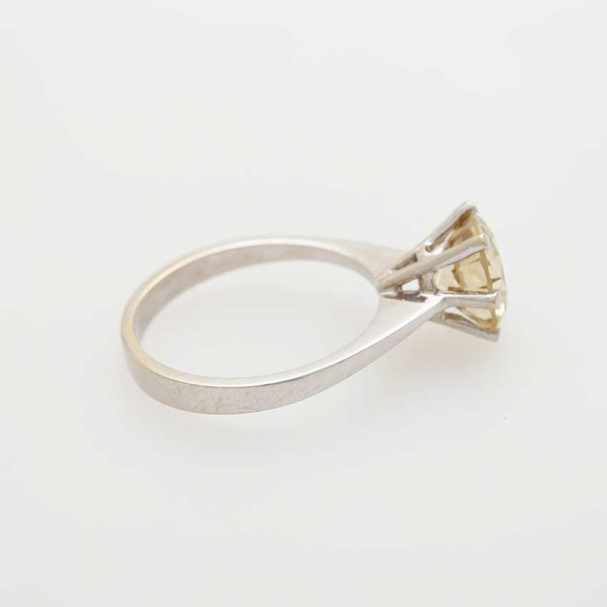 Solitaire ring bes. m. 1 Diam.-Brilliant - photo 3