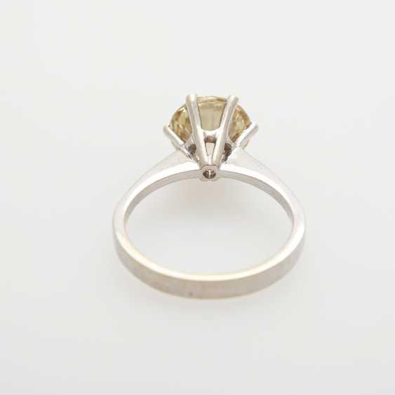 Solitaire ring bes. m. 1 Diam.-Brilliant - photo 4