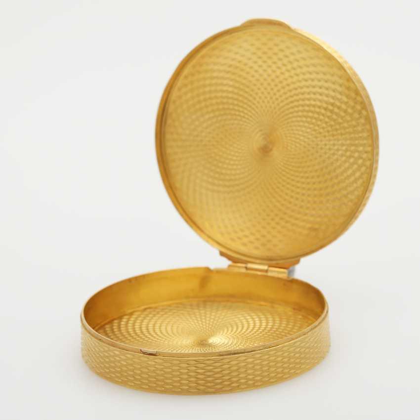 Zierliche Dose Gelbgold 20K, - photo 4