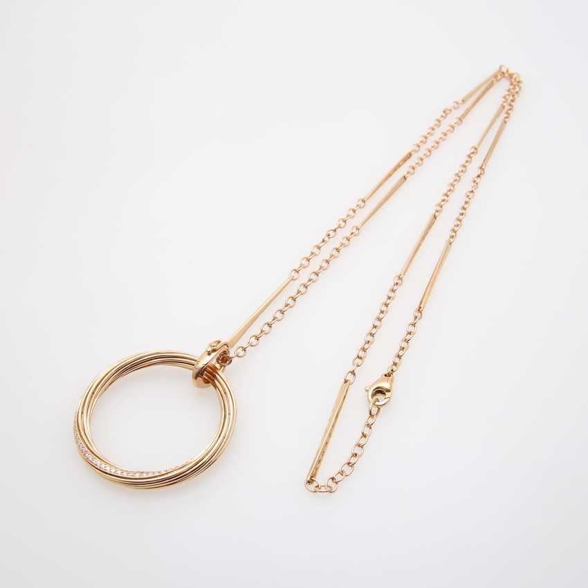"""WEMPE BY KIM necklace with a pendant """"Helioro"""", - photo 4"""