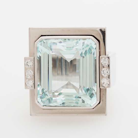 Ring in geometrischem Design - photo 1