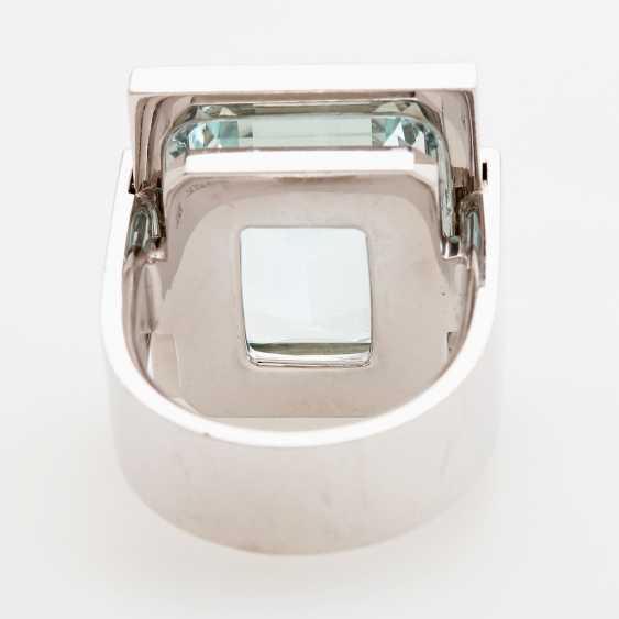Ring in geometrischem Design - photo 3