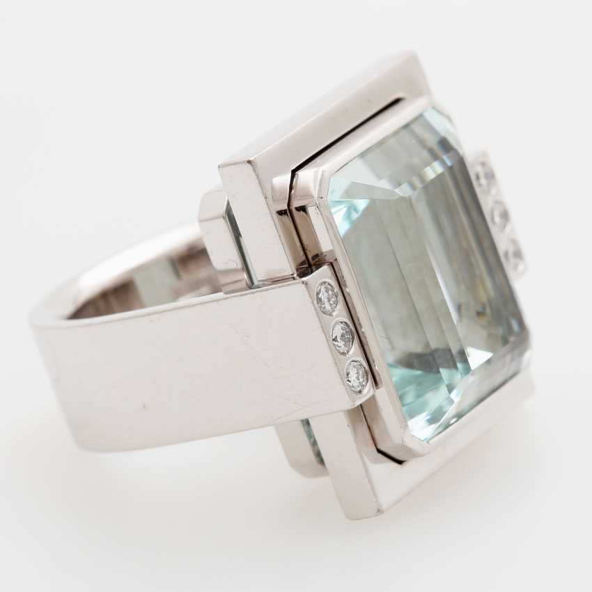 Ring in geometrischem Design - photo 2