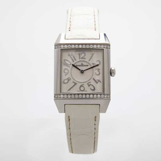 "JAEGER LE COULTRE ladies watch ""Reverso Squadra Lady"". Stainless steel, - photo 1"