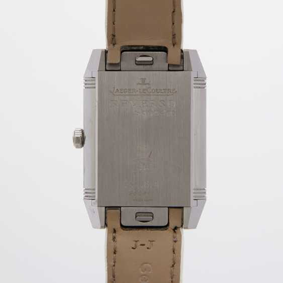 "JAEGER LE COULTRE ladies watch ""Reverso Squadra Lady"". Stainless steel, - photo 5"