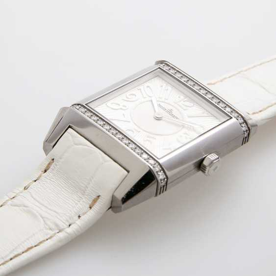 "JAEGER LE COULTRE ladies watch ""Reverso Squadra Lady"". Stainless steel, - photo 3"