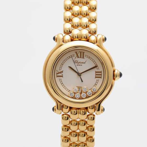 "CHOPARD ladies ""Happy Sport"", in yellow gold 18K - photo 1"