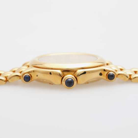 "CHOPARD ladies ""Happy Sport"", in yellow gold 18K - photo 3"