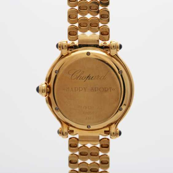 "CHOPARD ladies ""Happy Sport"", in yellow gold 18K - photo 4"