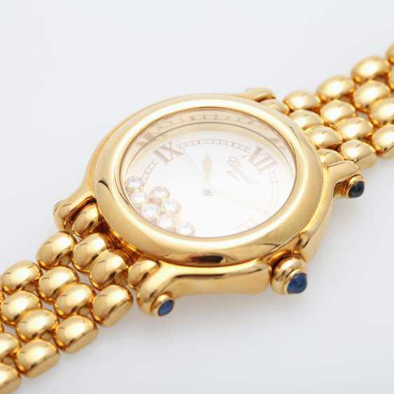 "CHOPARD ladies ""Happy Sport"", in yellow gold 18K - photo 2"