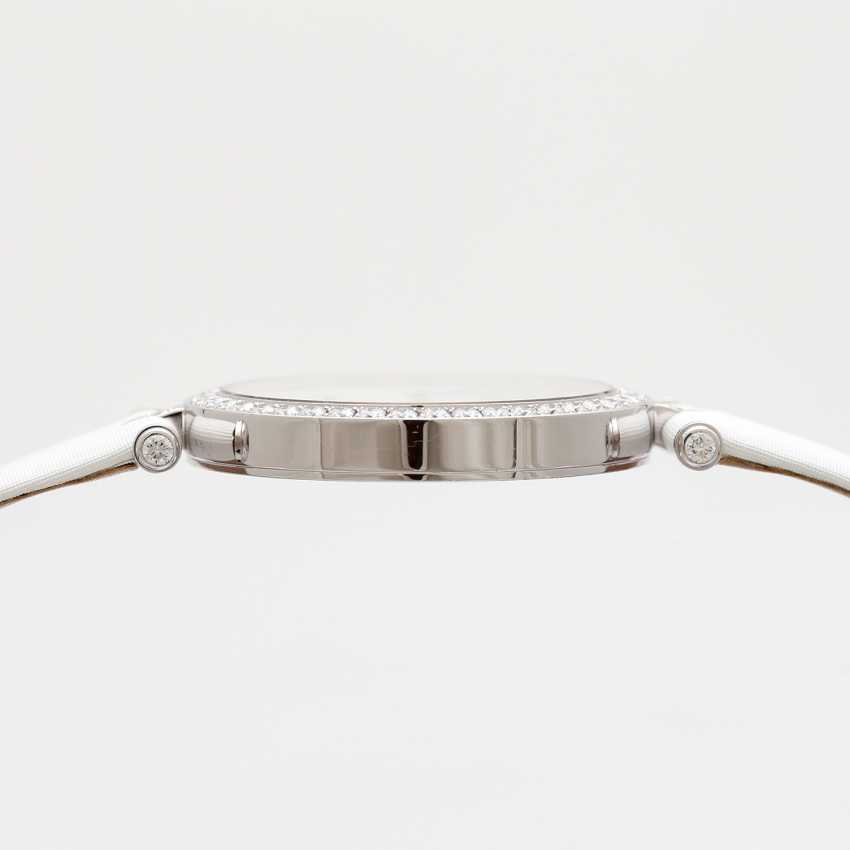 "VAN CLEEF & ARPELS women's watch ""Lady Arpels Papillon"" in white gold 18K - photo 4"