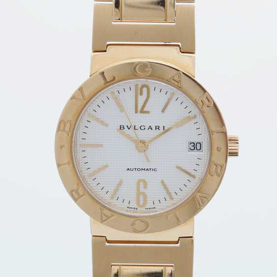 BULGARI ladies watch in yellow gold 18K. Automatic Plant. - photo 1