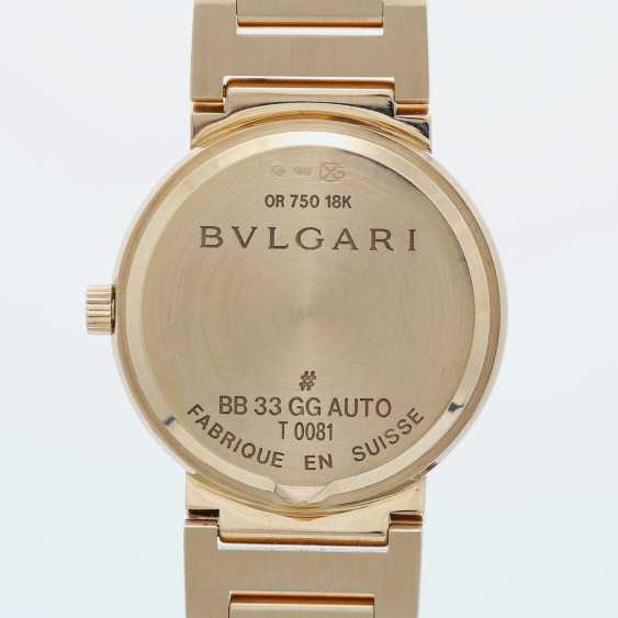 BULGARI ladies watch in yellow gold 18K. Automatic Plant. - photo 5