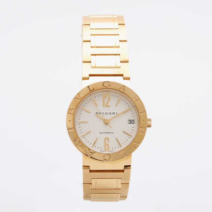 BULGARI ladies watch in yellow gold 18K. Automatic Plant. - photo 2