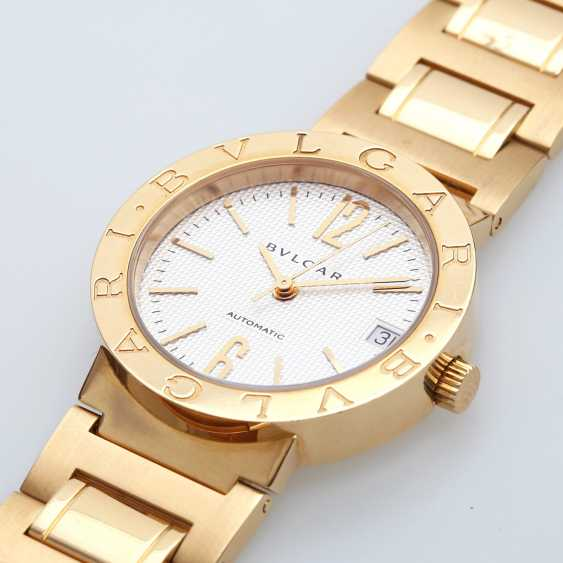 BULGARI ladies watch in yellow gold 18K. Automatic Plant. - photo 3