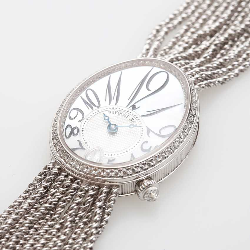 "BREGUET ladies watch ""Reine de Naples"" in white gold 18K with Diam.-Trim. - photo 3"