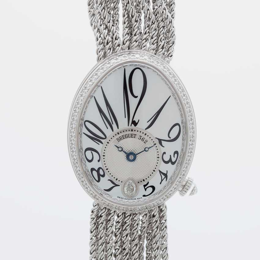 "BREGUET ladies watch ""Reine de Naples"" in white gold 18K with Diam.-Trim. - photo 1"