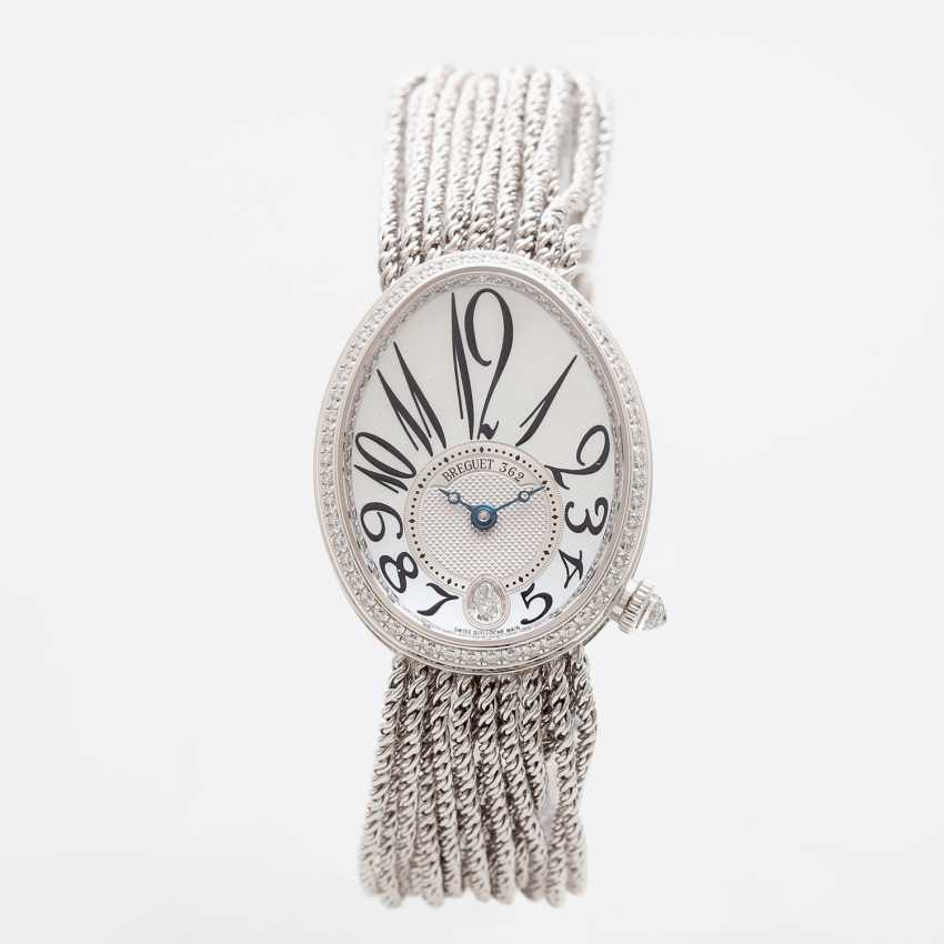 "BREGUET ladies watch ""Reine de Naples"" in white gold 18K with Diam.-Trim. - photo 2"