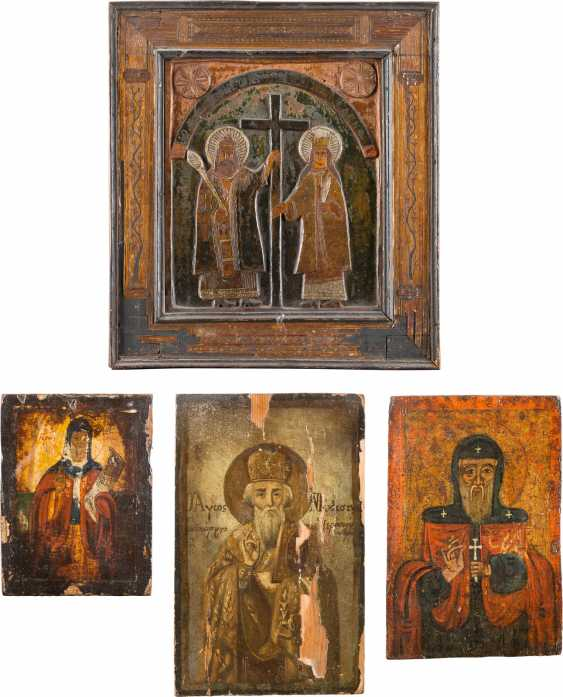 GROUP OF FOUR ICONS - photo 1