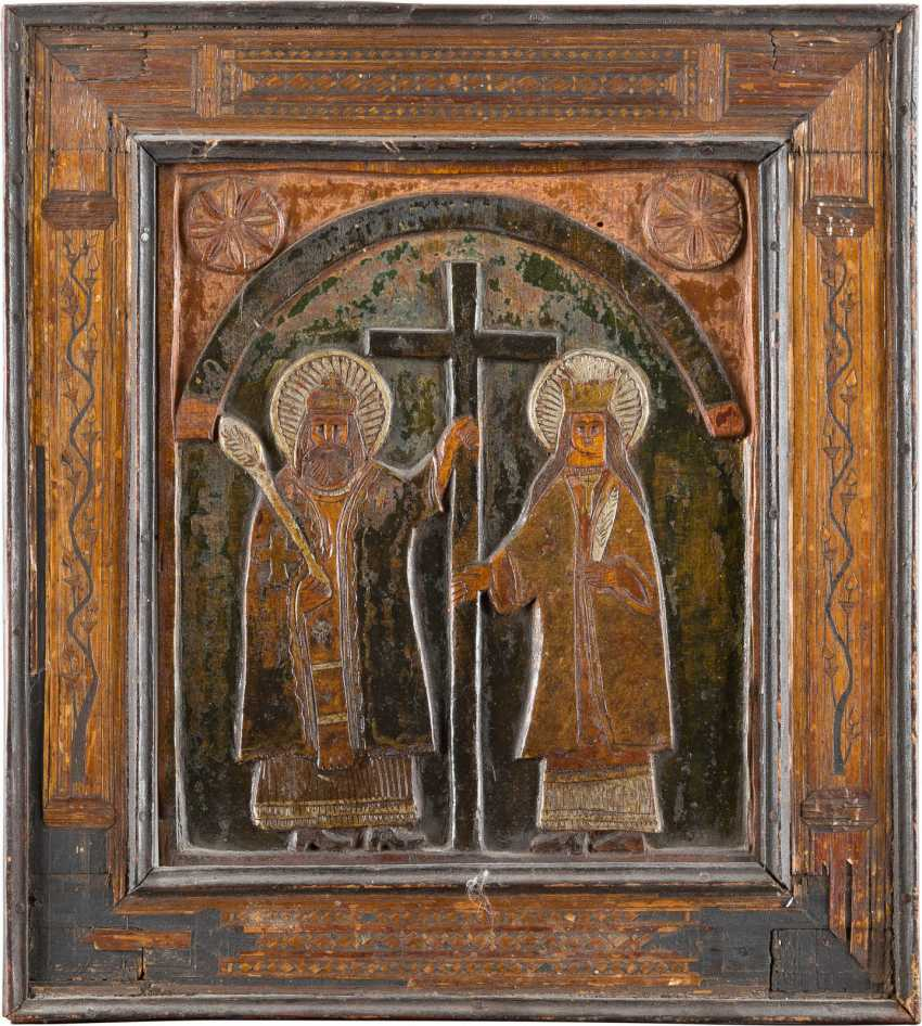 GROUP OF FOUR ICONS - photo 2