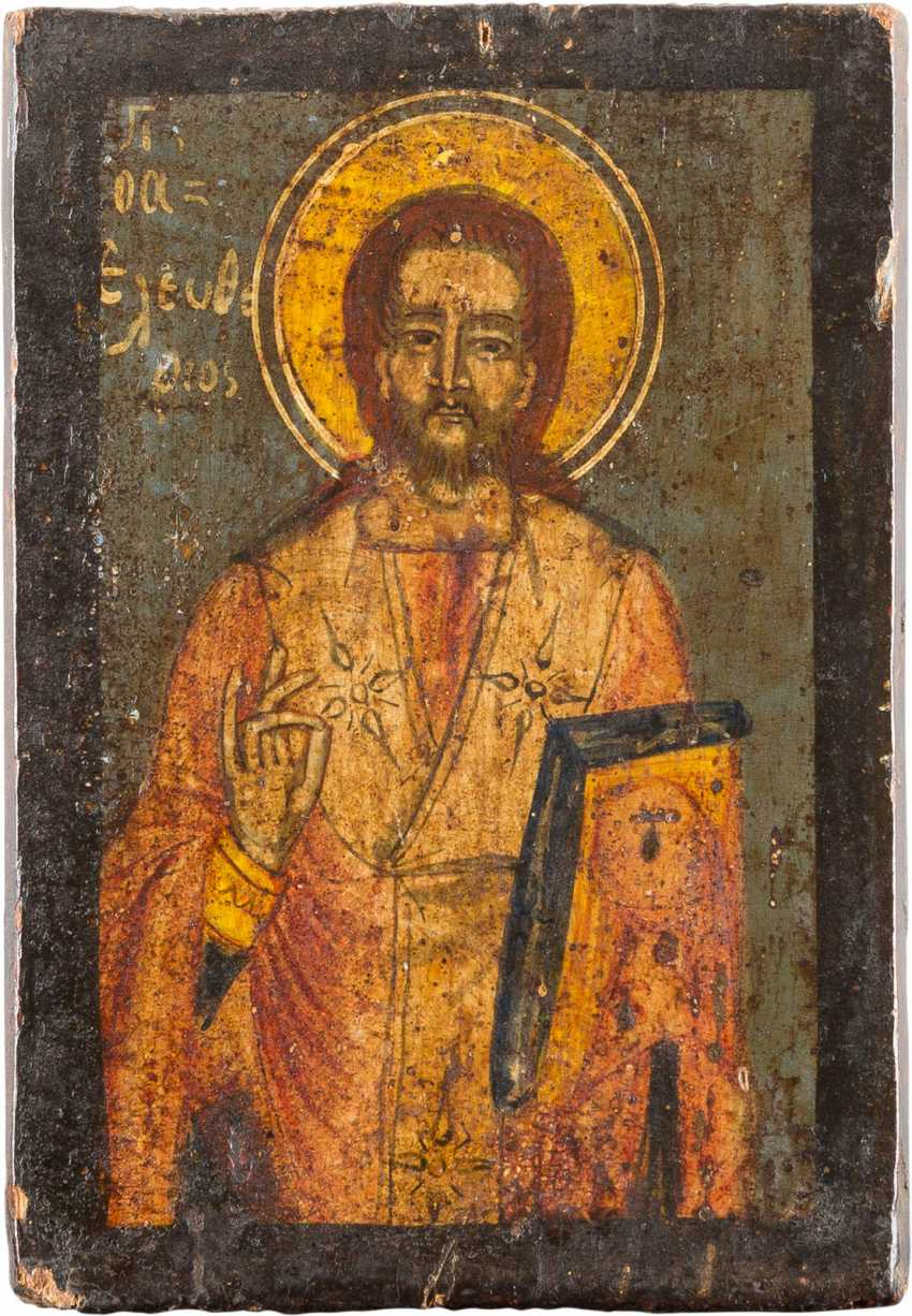 A SMALL ICON WITH THE HOLY ELEUTHERIOS - photo 1