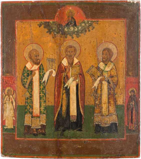 ICON, THREE HOLY HIERARCHS - photo 1