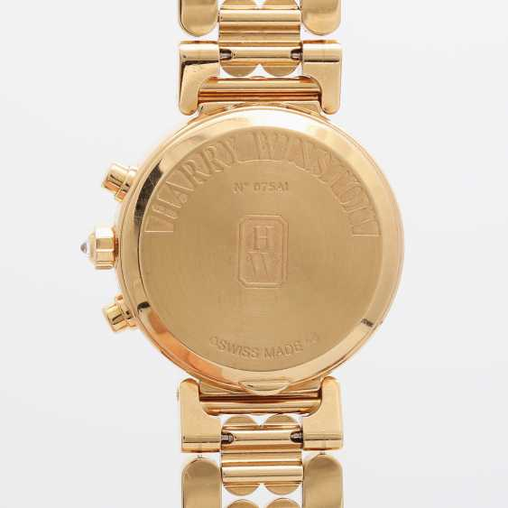 HARRY WINSTON Damenuhr, Chronograph, in Gelbgold 18K, - photo 5