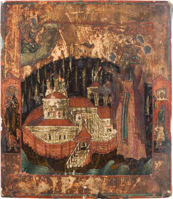 ICON WITH THE HOLY NILE STOLBENSKIJ - photo 1
