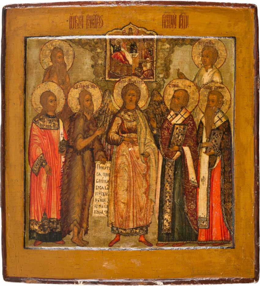 PATRONAL ICON OF THE NATIVITY OF THE MOTHER OF GOD - photo 1