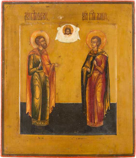ICON OF SAINTS FLORUS AND LAURUS - photo 1