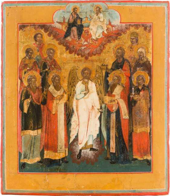 BIG PATRONAL ICON OF THE HOLY TRINITY - photo 1