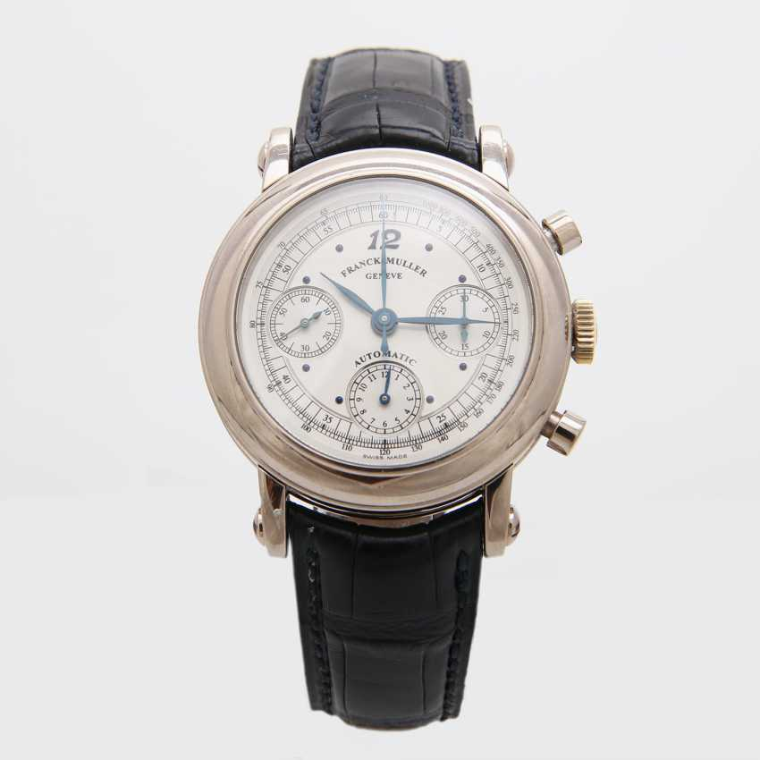 FRANCK MULLER men's watch, Chronograph, in 18K white gold. Ref.No.: 7000 CC. - photo 2