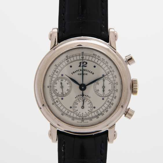 FRANCK MULLER men's watch, Chronograph, in 18K white gold. Ref.No.: 7000 CC. - photo 1