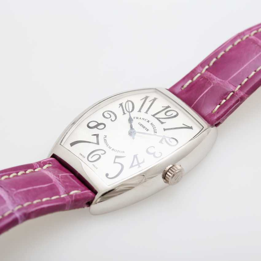 "FRANCK MULLER men's watch ""Curvex"" platinum. Automatic Plant. - photo 3"