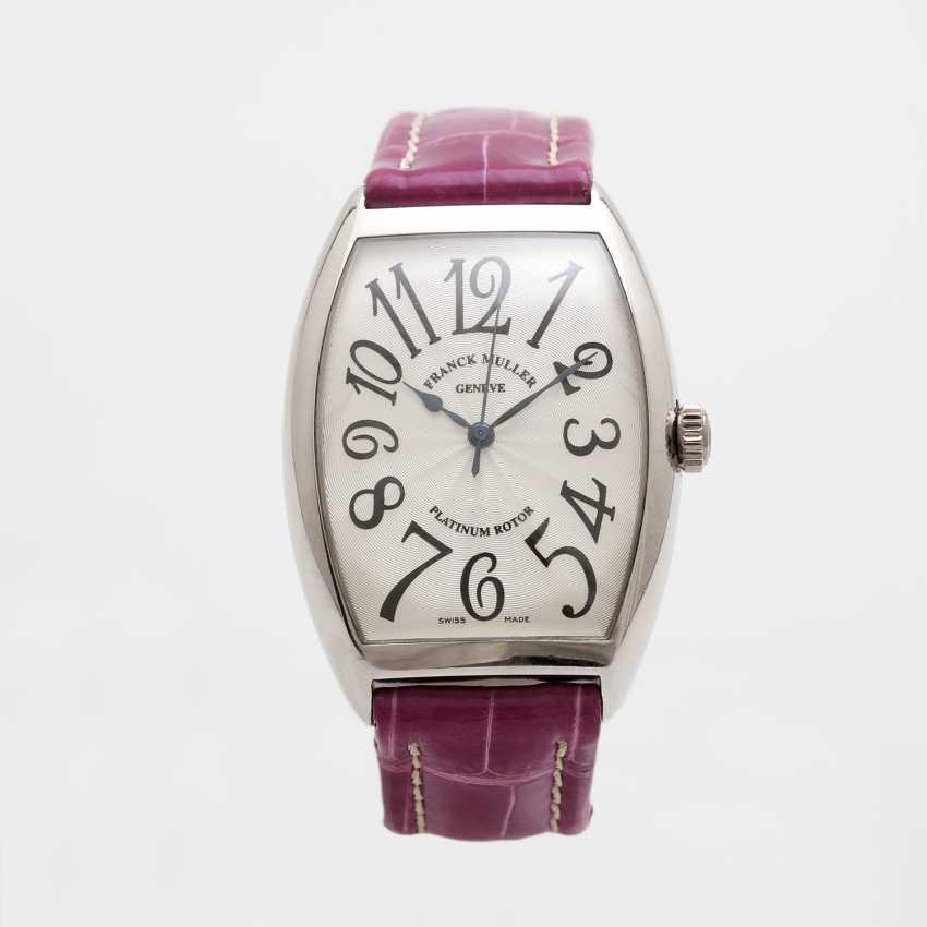 "FRANCK MULLER men's watch ""Curvex"" platinum. Automatic Plant. - photo 2"