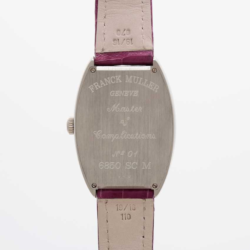 "FRANCK MULLER men's watch ""Curvex"" platinum. Automatic Plant. - photo 5"
